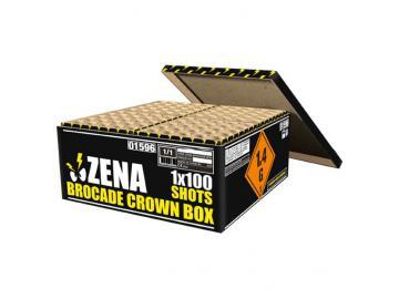 Brocade Crown Box - Zena