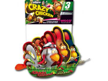 Crazy Chicken 3er Pack - Weco